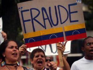 Fraude Electoral Venezuela